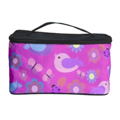 Spring pattern - pink Cosmetic Storage Case