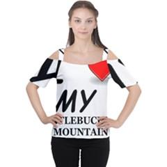Entlebucher Mountain Dog Love Women s Cutout Shoulder Tee