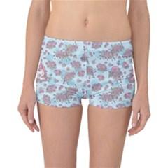 Space Roses Reversible Bikini Bottoms
