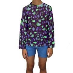 Spring night Kids  Long Sleeve Swimwear