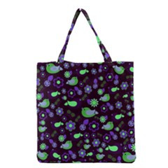 Spring night Grocery Tote Bag