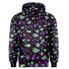 Spring night Men s Zipper Hoodie
