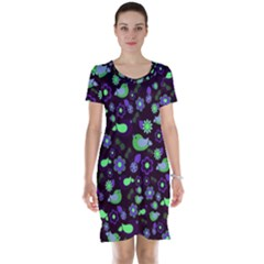Spring night Short Sleeve Nightdress