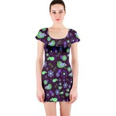 Spring night Short Sleeve Bodycon Dress