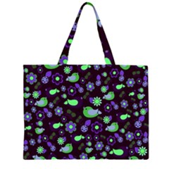 Spring night Large Tote Bag