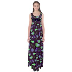 Spring night Empire Waist Maxi Dress
