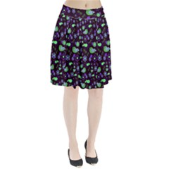 Spring night Pleated Skirt