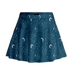 Celestial Dreams Mini Flare Skirt