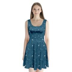 Celestial Dreams Split Back Mini Dress