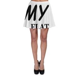 Flat Coated Ret Love Skater Skirt