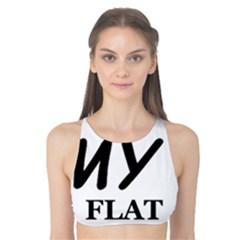 Flat Coated Ret Love Tank Bikini Top