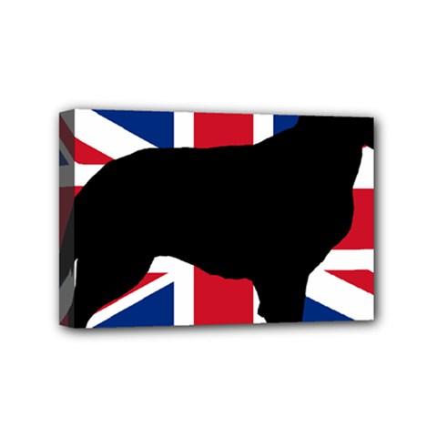 Flat Coated Retriever Silo England United Kingdom Mini Canvas 6  x 4