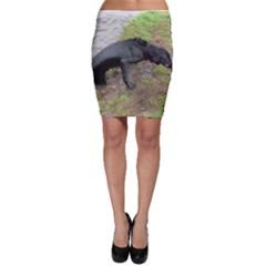 Flat Coated Retriever Wet Bodycon Skirt