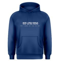 Blue No Time For Girlfriends Men s Pullover Hoodie