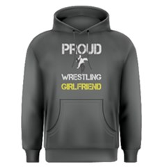 Proud wrestling girlfriend Men s Pullover Hoodie