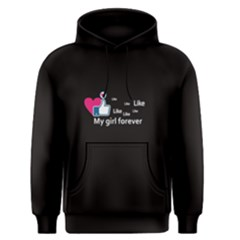 Black Like My Girl Forever Men s Pullover Hoodie