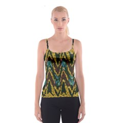 Painted waves                                                         Spaghetti Strap Top
