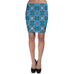 Ornamental flowers pattern                                                         Bodycon Skirt