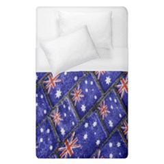 Australian Flag Urban Grunge Pattern Duvet Cover (Single Size)