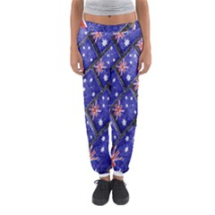 Australian Flag Urban Grunge Pattern Women s Jogger Sweatpants