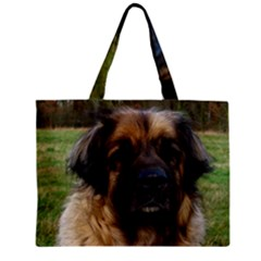 Leonberger 2 Zipper Mini Tote Bag