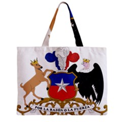 Coat of Arms of Chile Zipper Mini Tote Bag