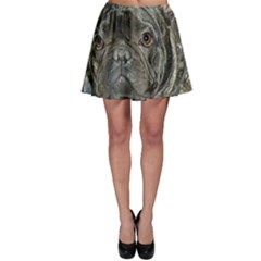 French Bulldog Brindle Skater Skirt