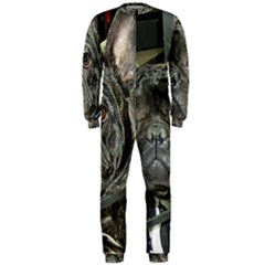 French Bulldog Brindle OnePiece Jumpsuit (Men)
