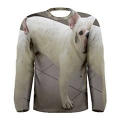 French Bulldog Full Men s Long Sleeve Tee