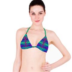 Hearts Weave Bikini Top