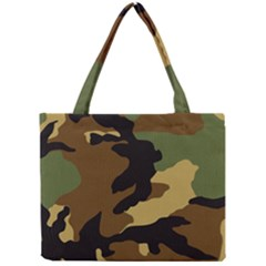 Army Camouflage Mini Tote Bag