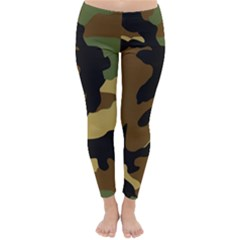 Army Camouflage Classic Winter Leggings