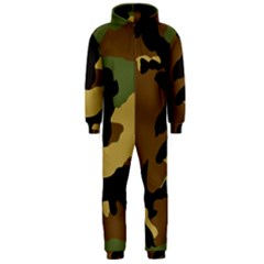Army Camouflage Hooded Jumpsuit (Men)