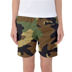 Army Camouflage Women s Basketball Shorts