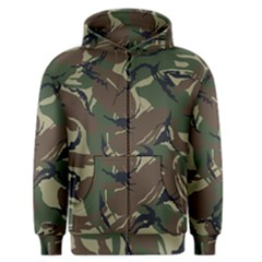 Army Shirt Grey Green Blue Men s Zipper Hoodie