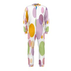 Bubble Water Yellow Blue Green Orange Pink Circle OnePiece Jumpsuit (Kids)