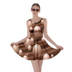 Choco Bubbles Skater Dress