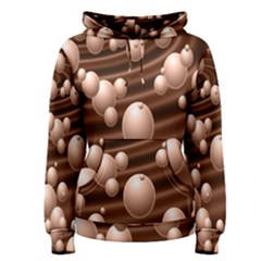 Choco Bubbles Women s Pullover Hoodie