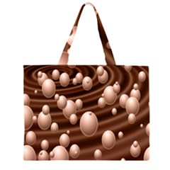 Choco Bubbles Large Tote Bag