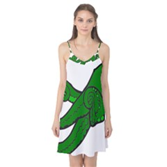 Tentacle Monster Green  Camis Nightgown