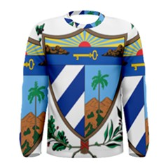 Coat of Arms of Cuba Men s Long Sleeve Tee