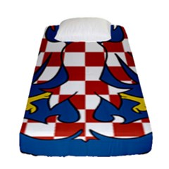 Moravia Coat of Arms  Fitted Sheet (Single Size)