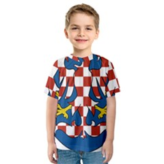 Moravia Coat of Arms  Kids  Sport Mesh Tee