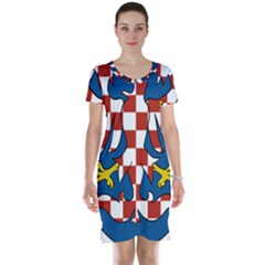 Moravia Coat of Arms  Short Sleeve Nightdress