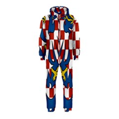Moravia Coat of Arms  Hooded Jumpsuit (Kids)