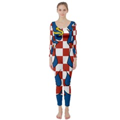 Moravia Coat of Arms  Long Sleeve Catsuit