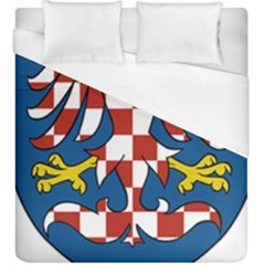 Moravia Coat of Arms  Duvet Cover (King Size)