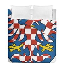 Moravia Coat of Arms  Duvet Cover Double Side (Full/ Double Size)