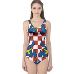 Moravia Coat of Arms  One Piece Swimsuit