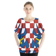 Moravia Coat of Arms  Blouse